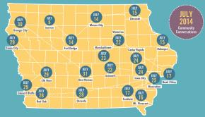Iowa community conversations