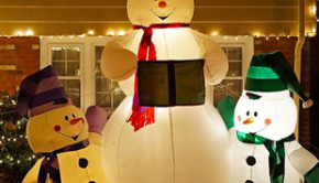 Sioux City Now - Christmas Lights Tour - Snowmen