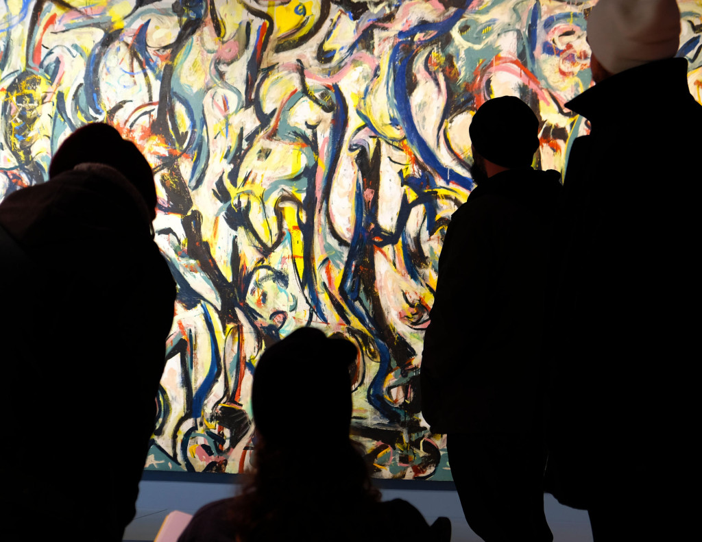The Rocking Pollock event will bring together musicians with the work of art that inspired them